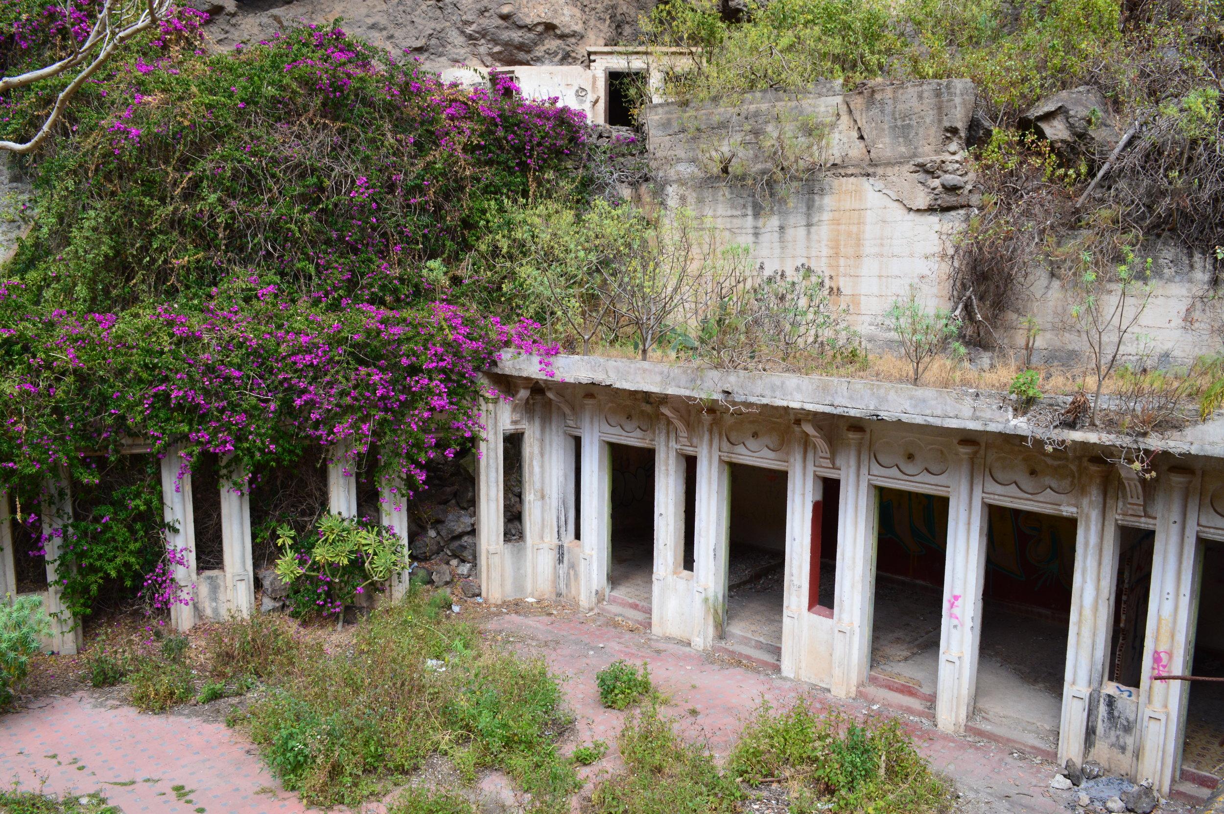 Abandoned spa!