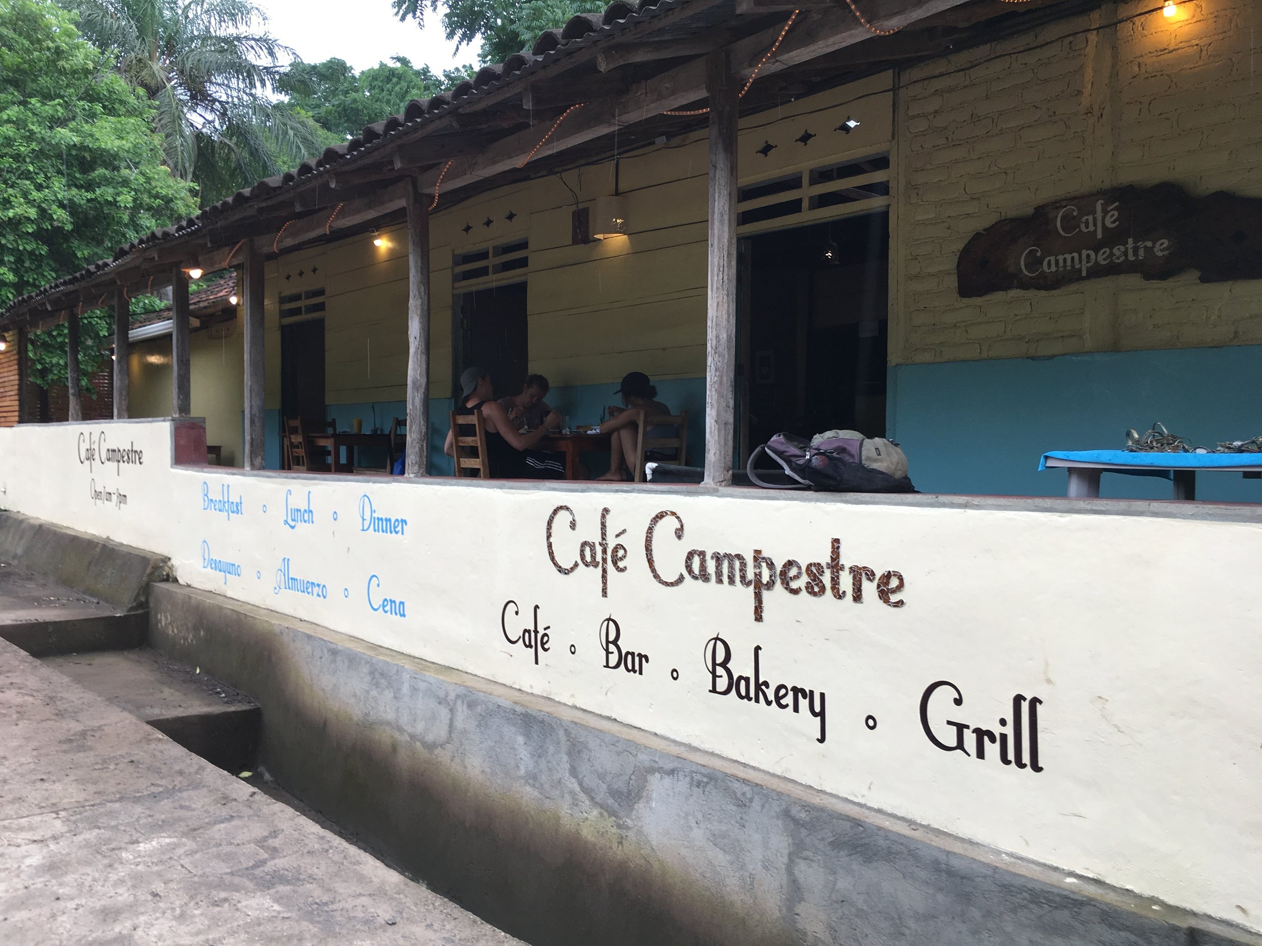Cafe Campestre for late lunch