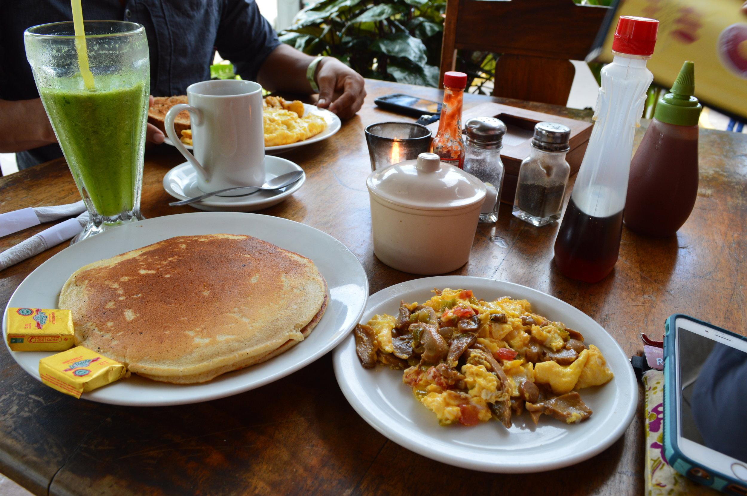 Breakfast at  Kathy's Waffle House