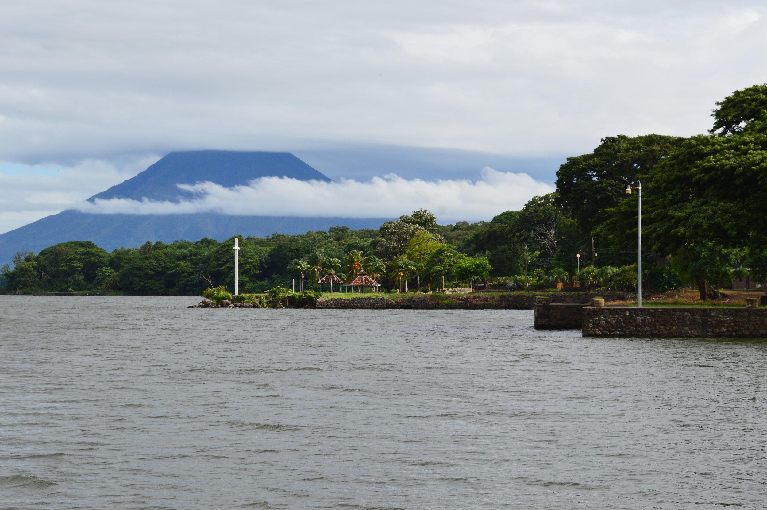 Volcan La Concepcion in the distance