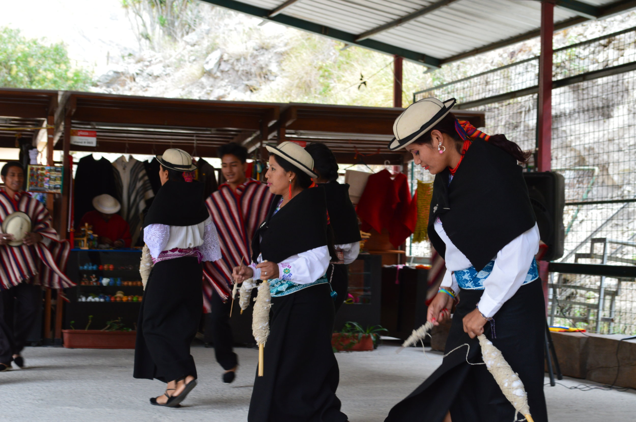 Traditional dance and music