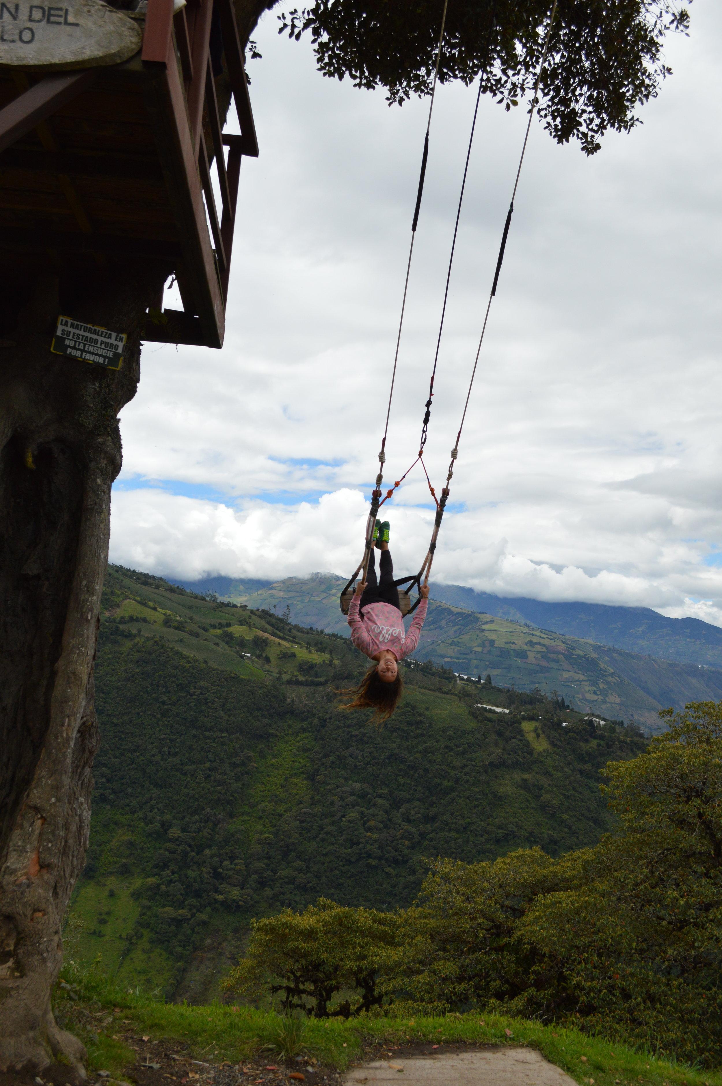 Swing upside-down!