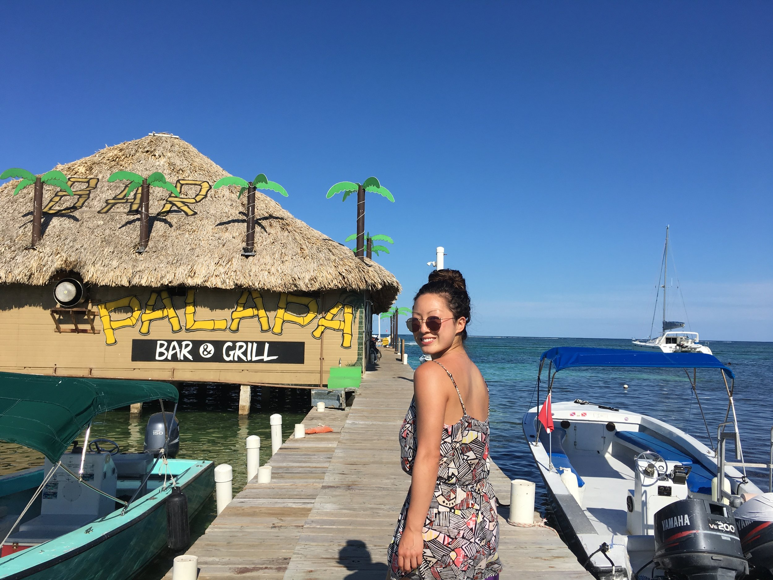 Palapa Bar and Grill - popular bar where all the tourists hang out