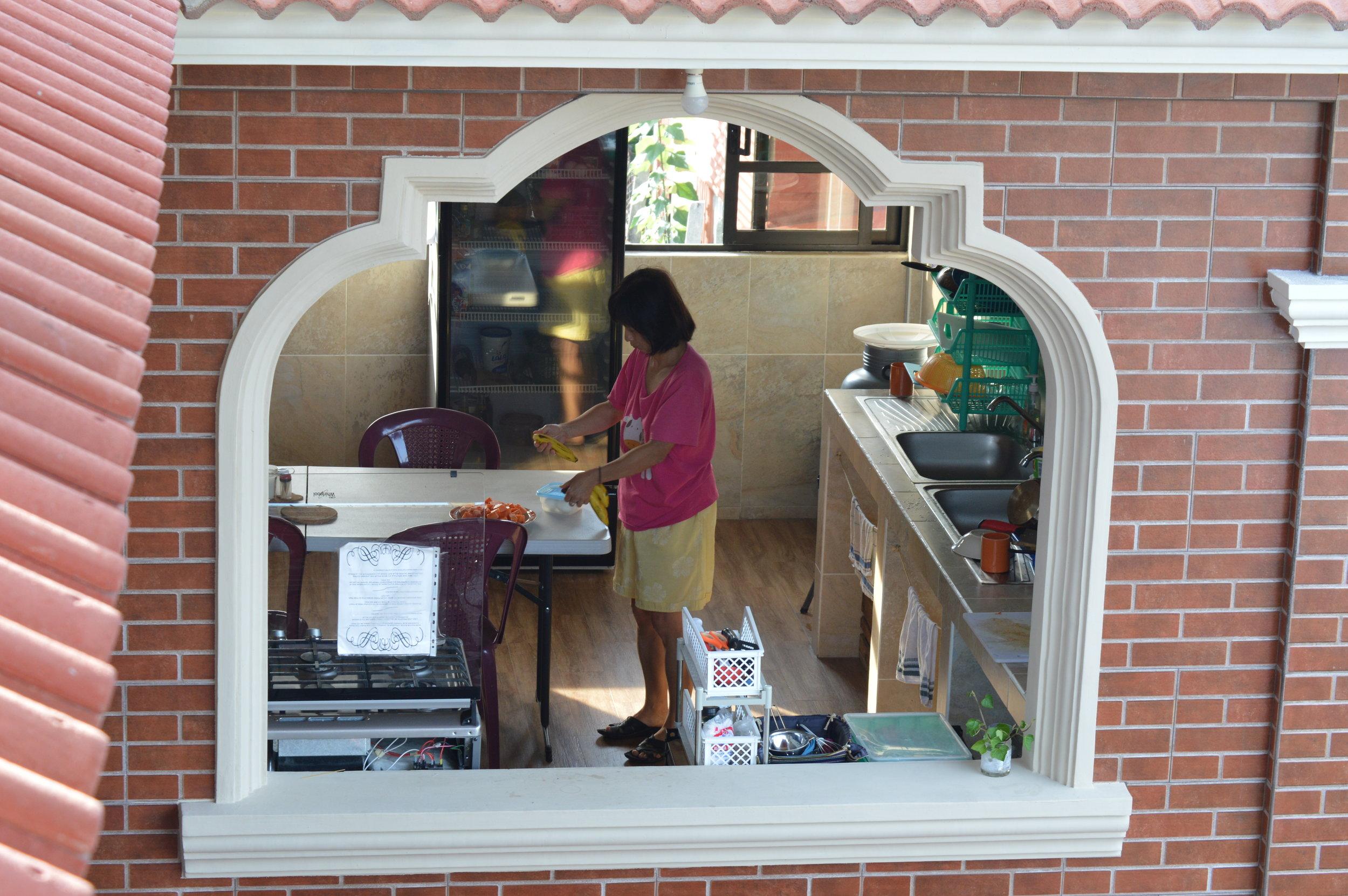 "Large kitchen ""window"""
