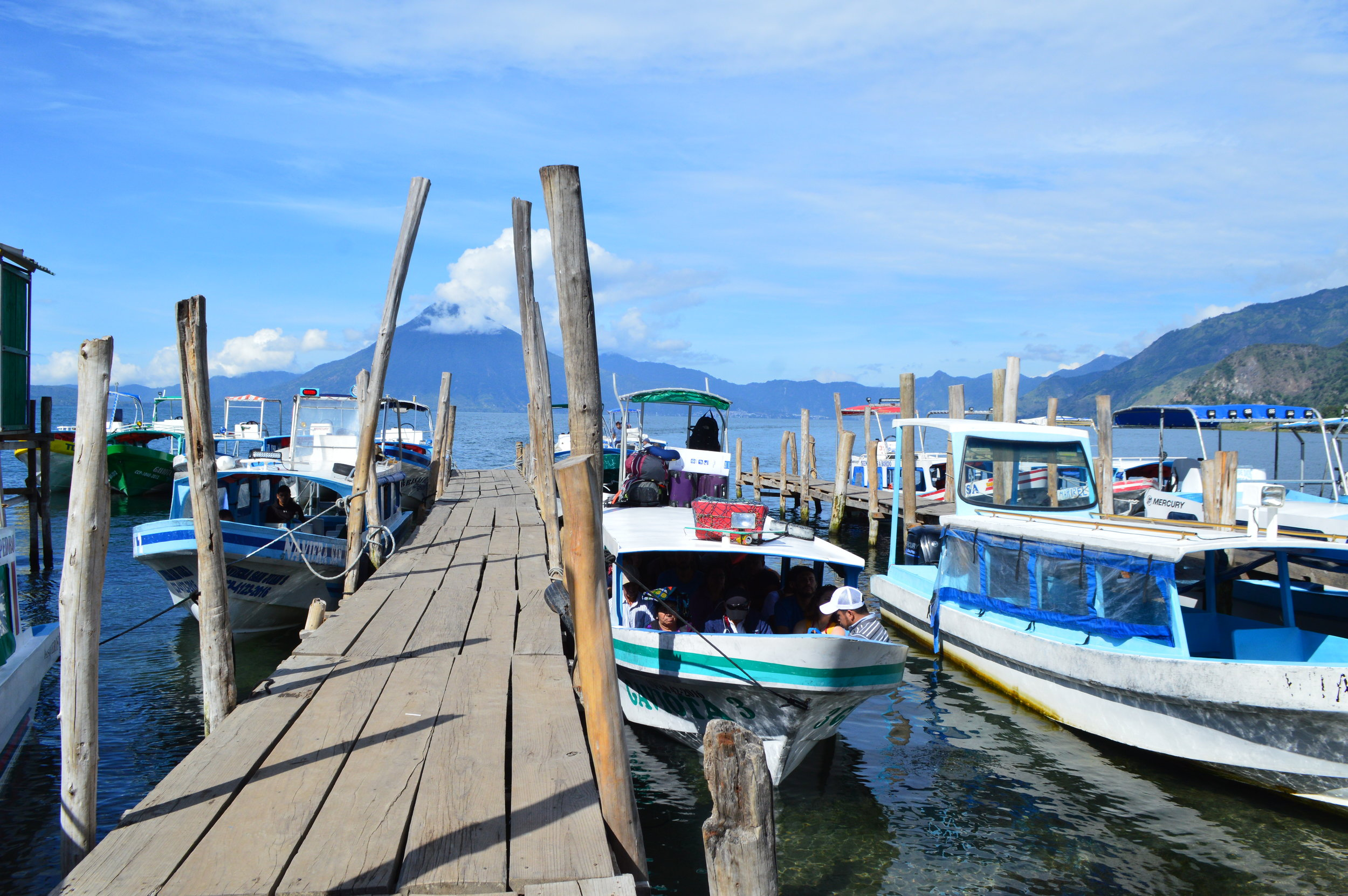 Panajachel docks