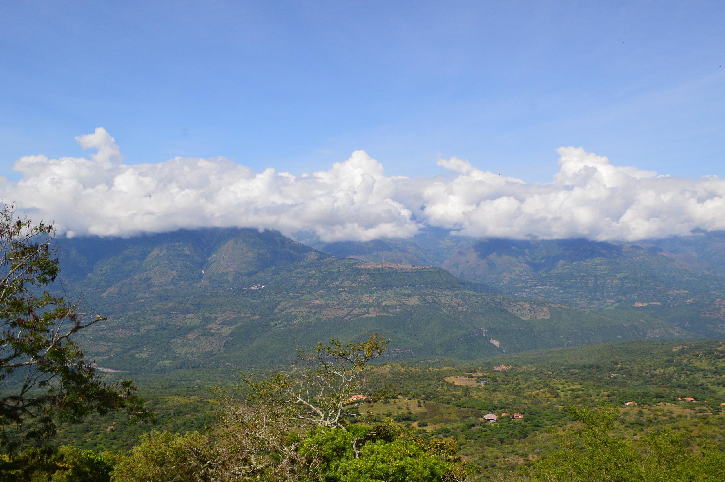 View from Salto de Mico