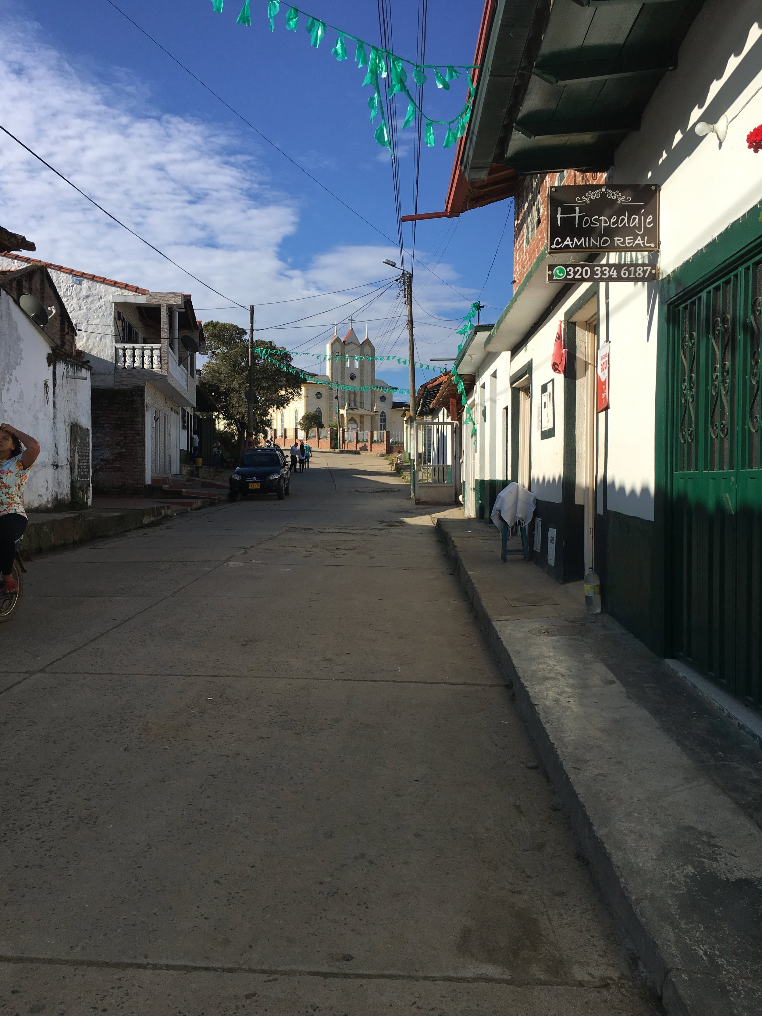 The small town of Guadalupe
