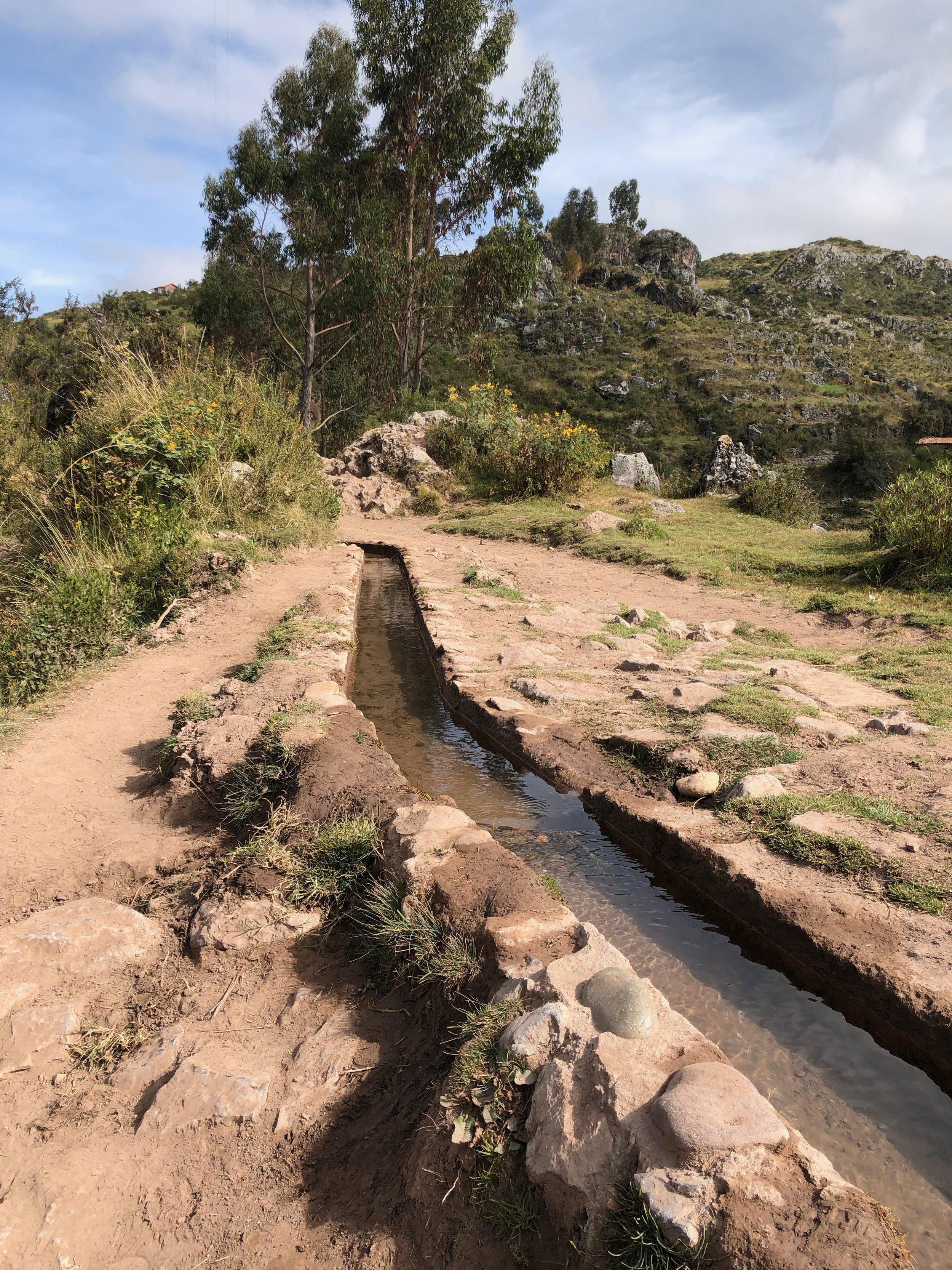 Follow the aqueducts