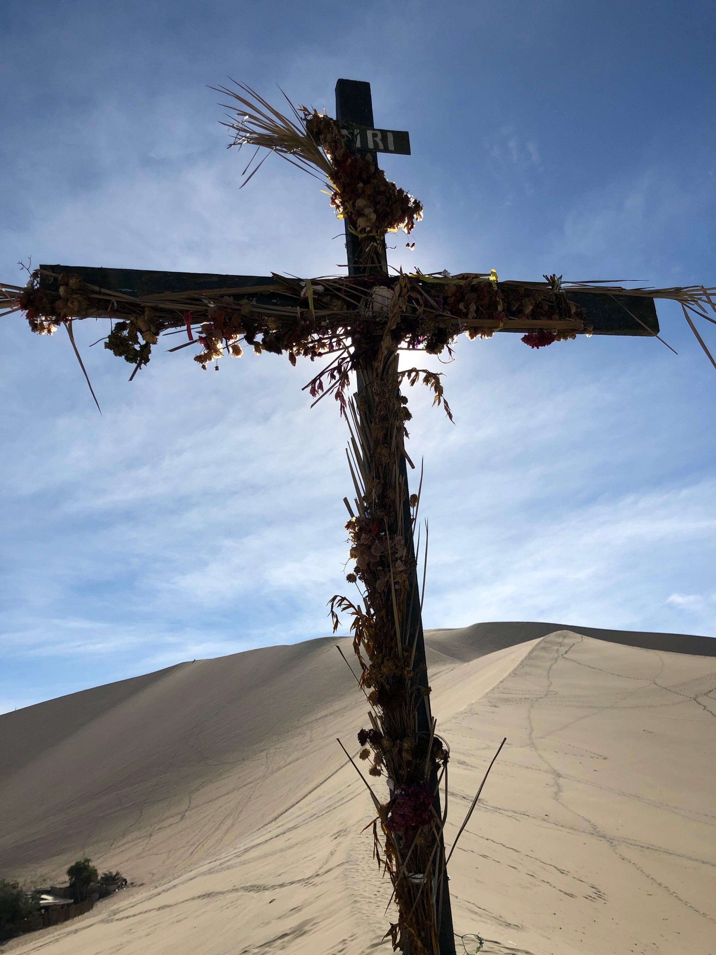 Start at the cross