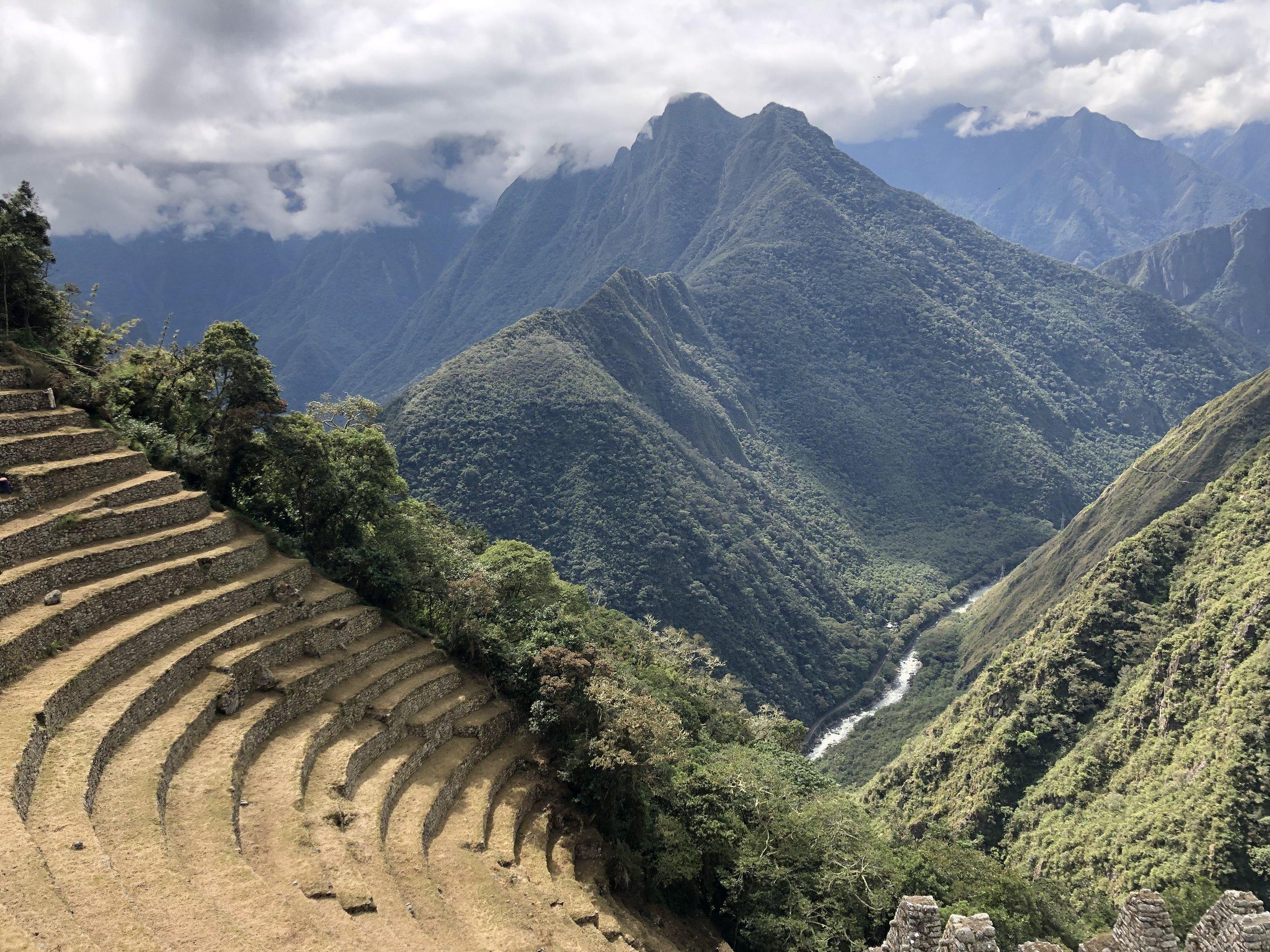 Wiñay Wayna terraces