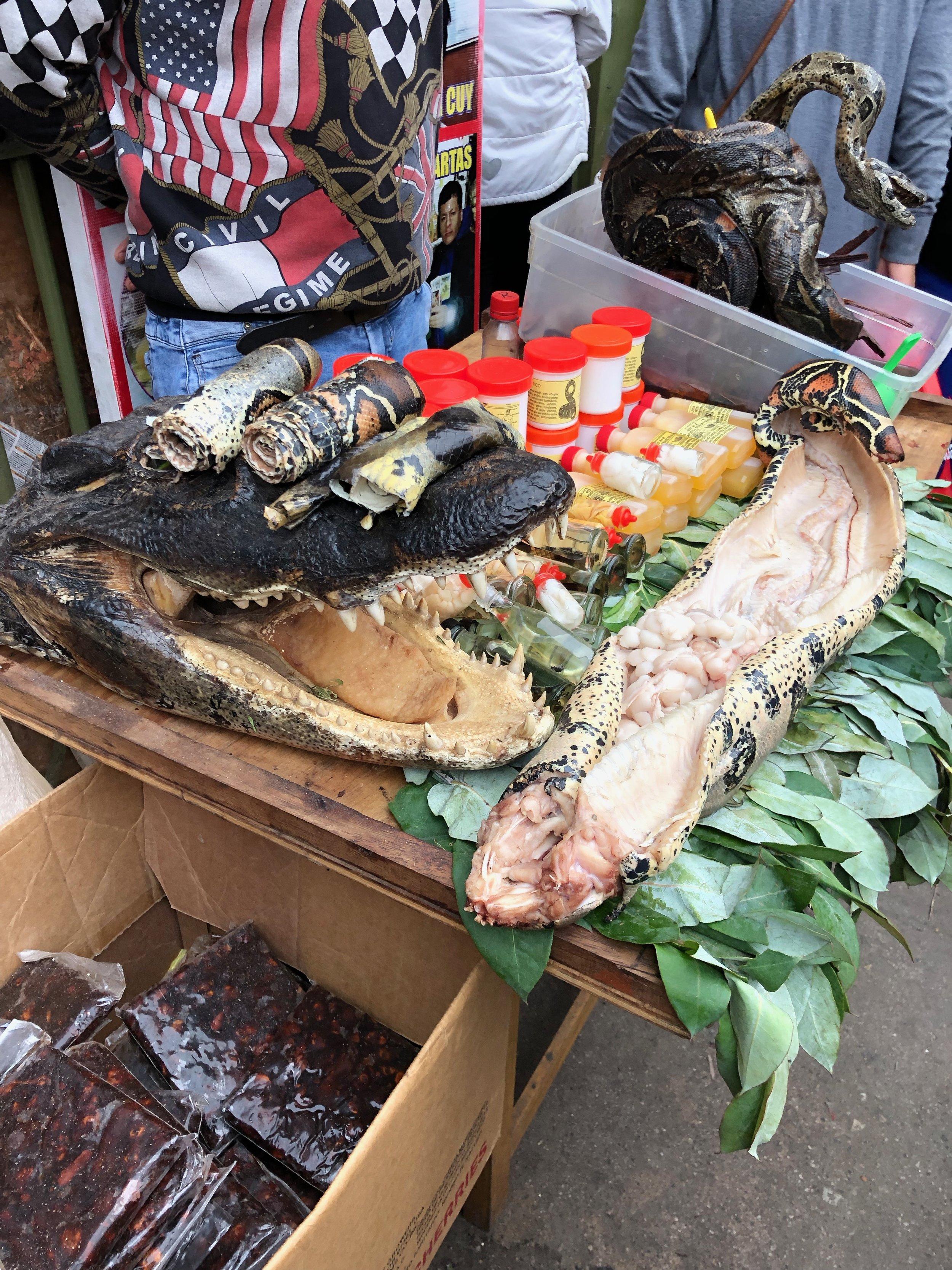 Mercado de Brujas (Witches' Market)