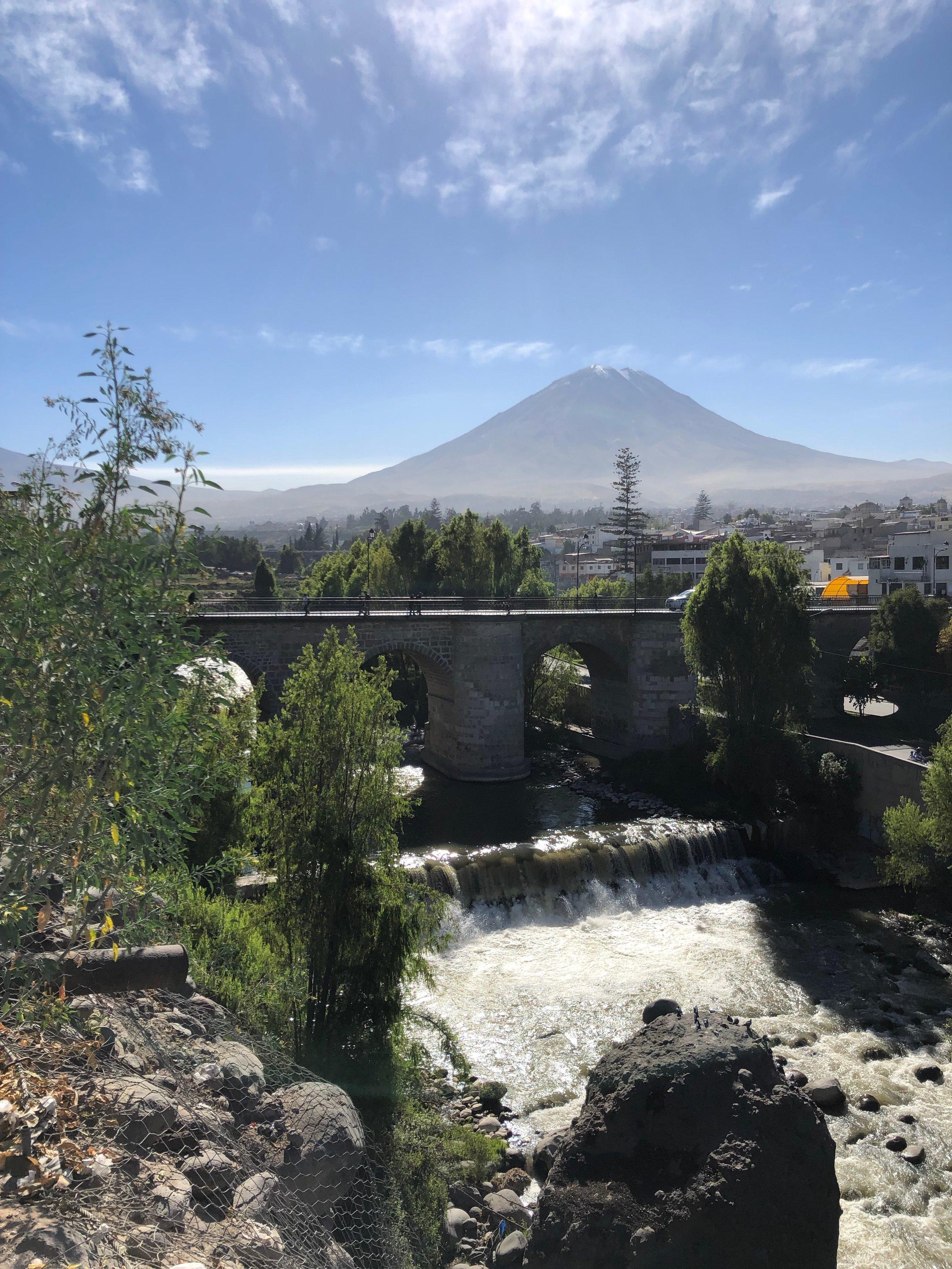 View on the way to Yanahuara