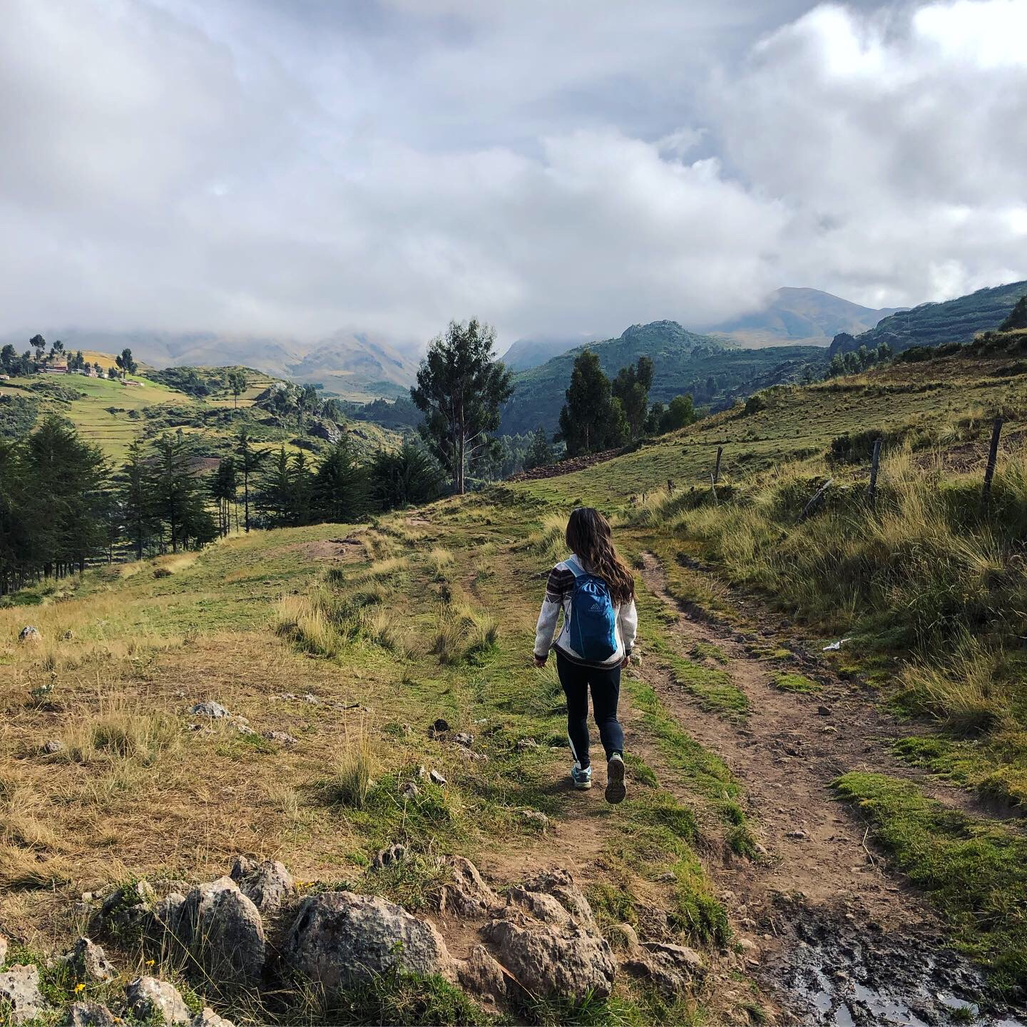 Astounding views of mountains and valleys along the hike