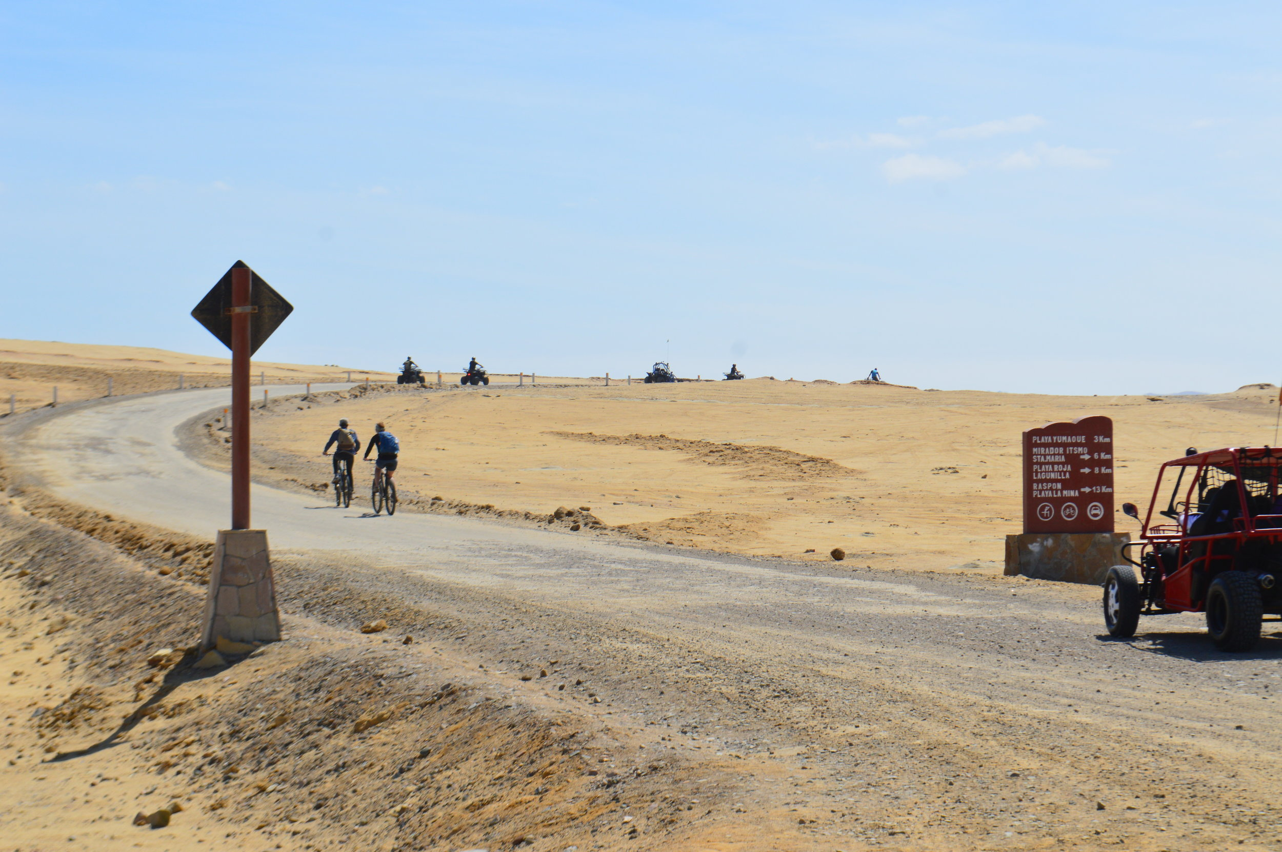 Rent quads or bikes to ride around the national reserve