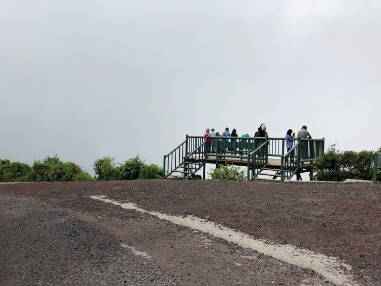 Viewing deck - the view is supposedly very nice when it's clear