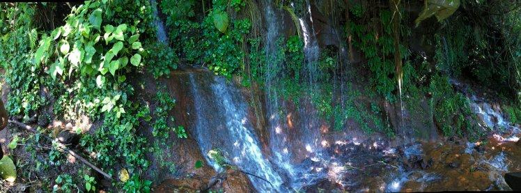 First set of waterfalls