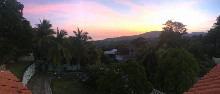Captivating sunset over El Sunzal