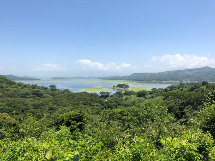 View of Lake Suchitlán